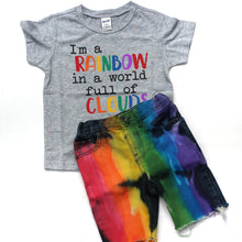 Boys Full Primary Rainbow Shorts