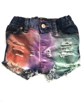 Spring Pastel Denim Shorts Multiple COLOR CHOICES