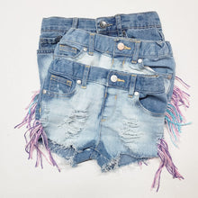 Summer Fringe Shorties