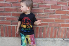 Boys Primary Rainbow Denim Shorts