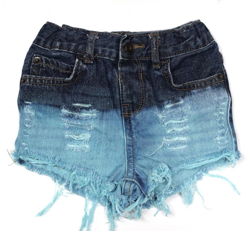 December birthstone girls and boys shorts or shorties