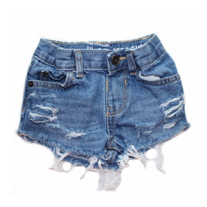 Medium Wash Simply Shorties