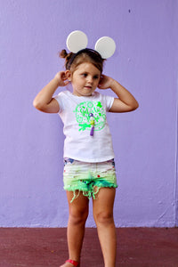The Space Commander girls and boys shorts or shorties