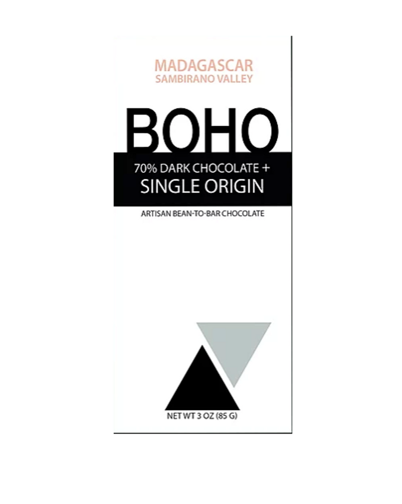 Boho Madagascar 70% Dark Chocolate