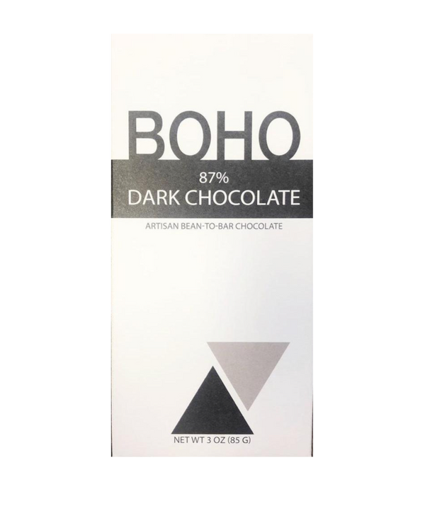Boho 87% Dark Chocolate