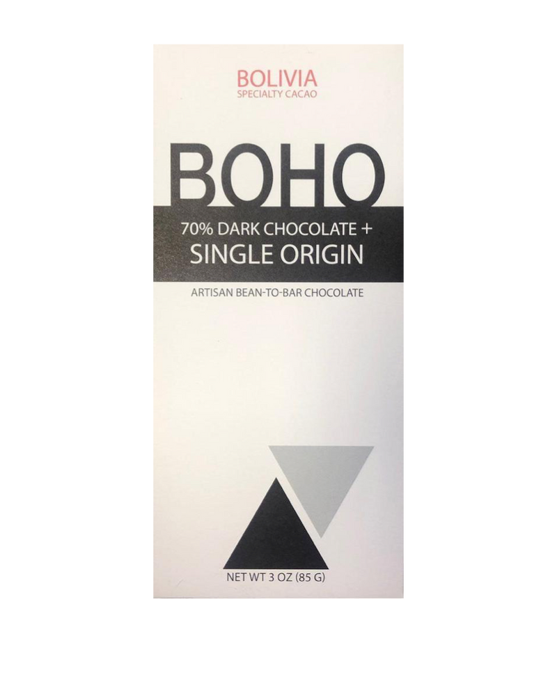 Boho Bolivia 70% Dark Chocolate