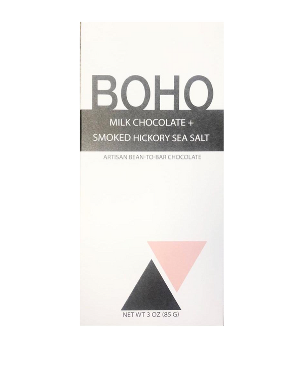 Boho Milk Chocolate and Smoked Hickory Sea Salt