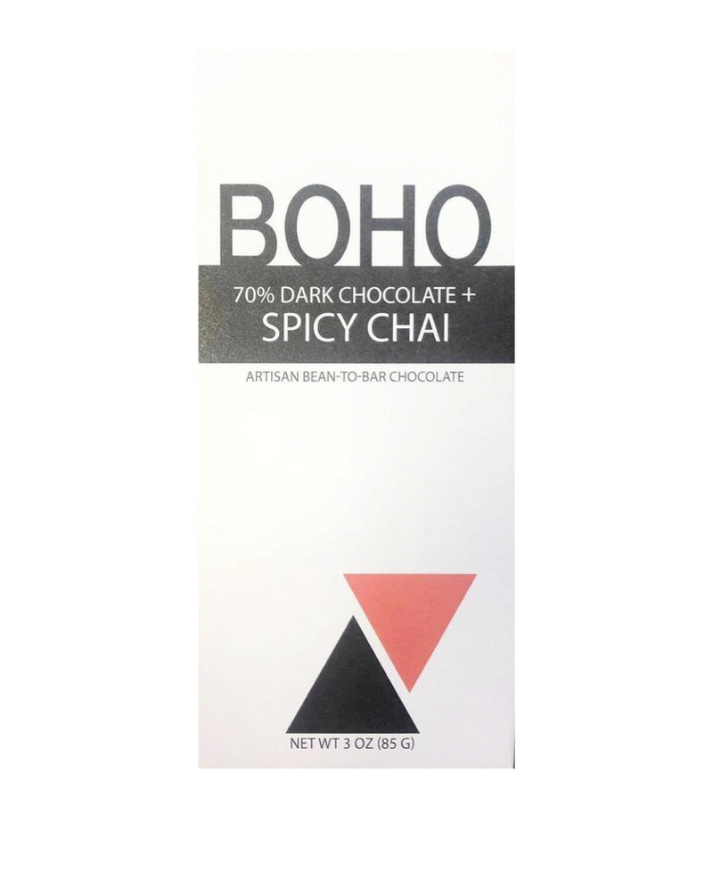 Boho 70% Dark Chocolate + Spicy Chai