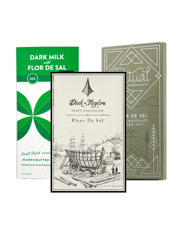 Fleur De Sel Selection - 3 bar bundle