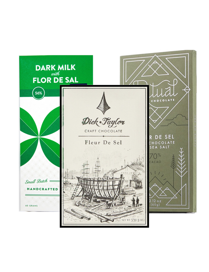 Fleur De Sel Selection - 3 pack (FREE SHIPPING)