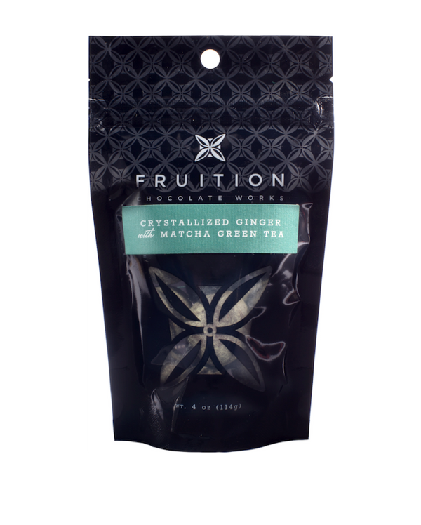 Fruition Crystallized Ginger with Matcha Green Tea