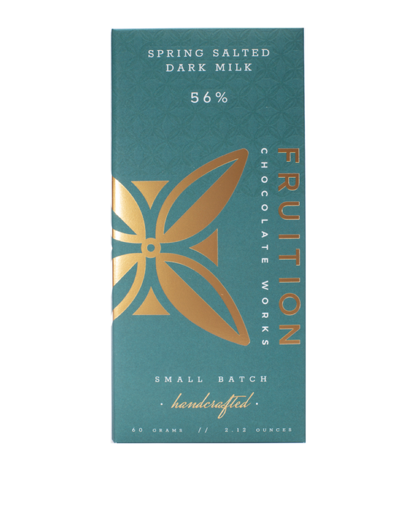 Fruition Spring Salted Dark Milk 56%