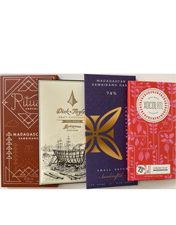 Madagascar Single Origin Selection - 4 bar subscription bundle - FREE SHIPPING