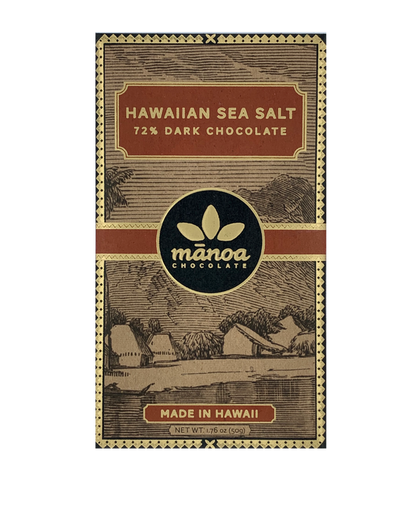 Manoa 72% Hawaiian Sea Salt