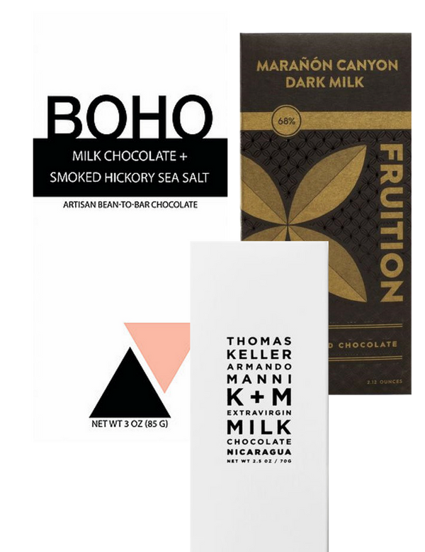 Milk Chocolate Selection - 3 bar bundle