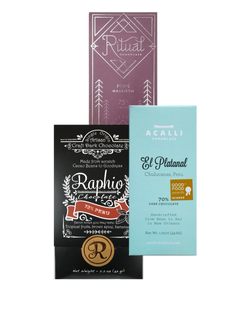 Peru Single Origin Selection - 3 bar bundle