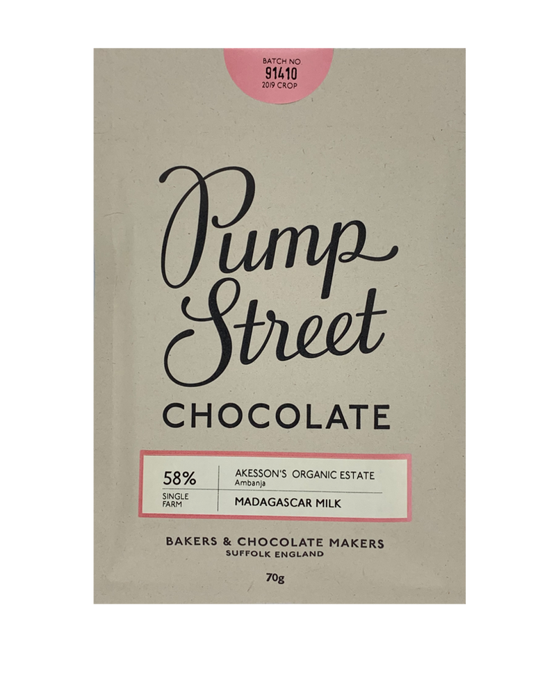 Pump Street 58% Madagascar Milk