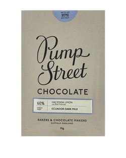 Pump Street 60% Ecuador Dark Milk