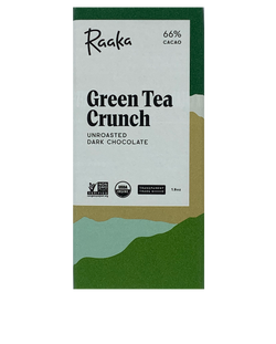Raaka 66% Green Tea Crunch