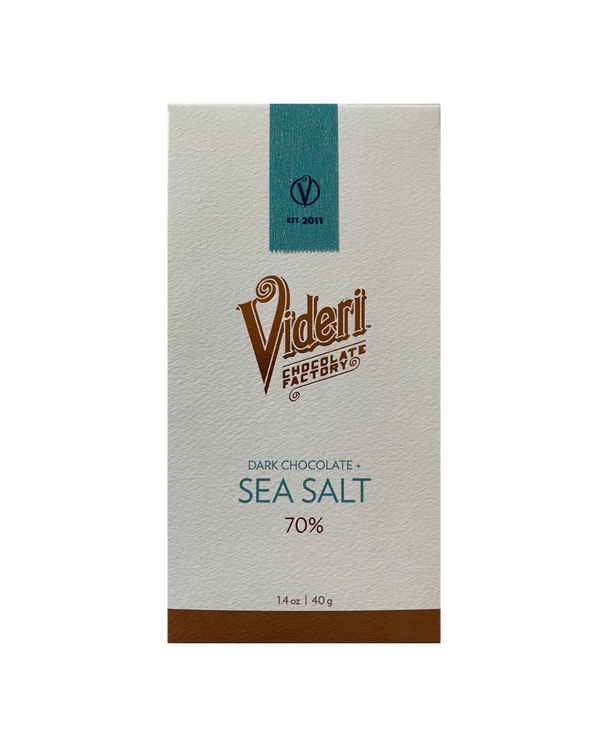 Videri 70% Dark + Sea Salt