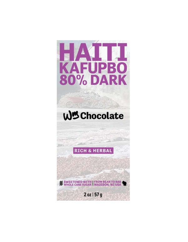 Wm. Chocolate Haiti Kafupbo