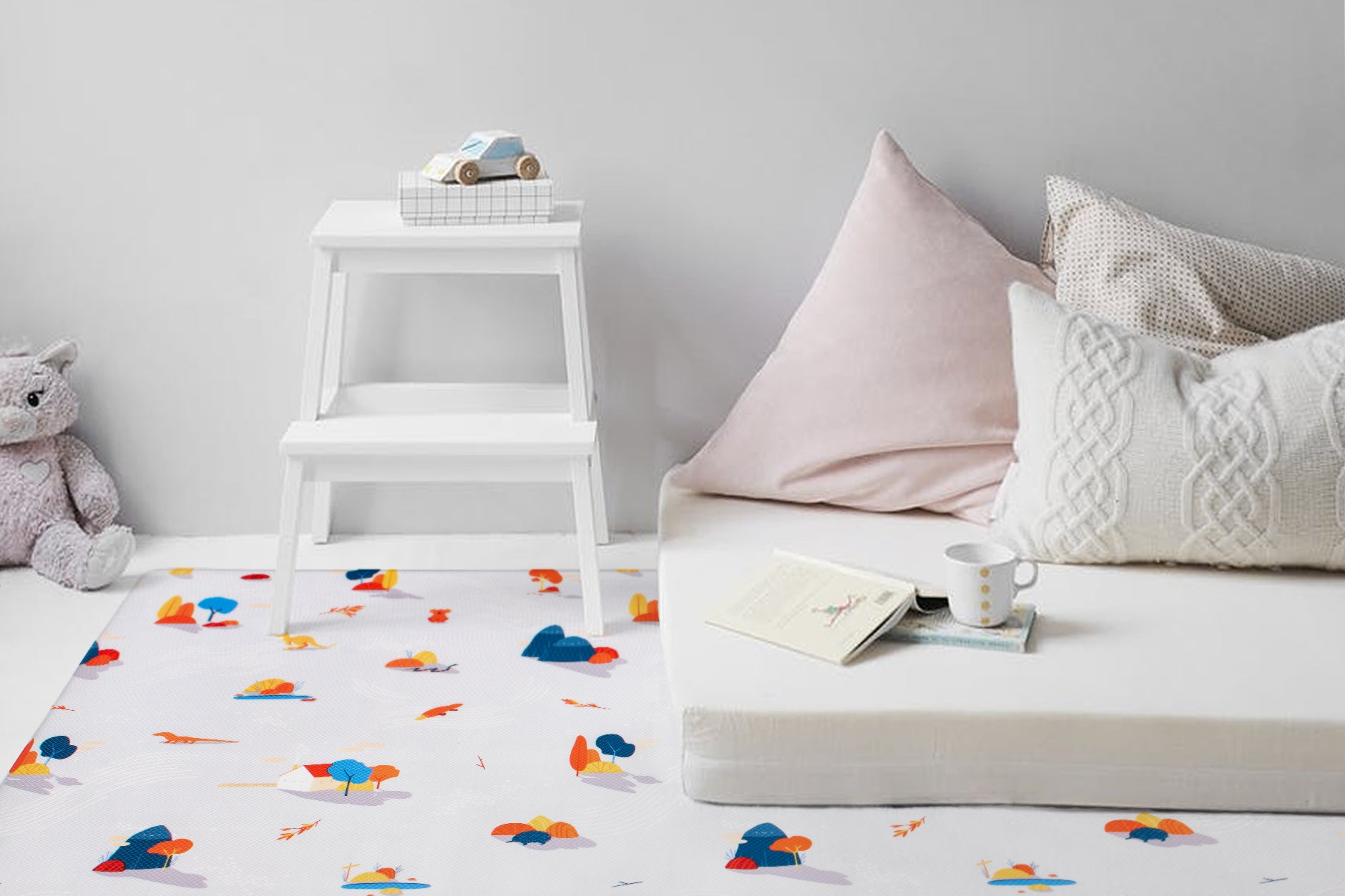 How to create a fun kids' playroom that suits your grown-up aesthetic, too.
