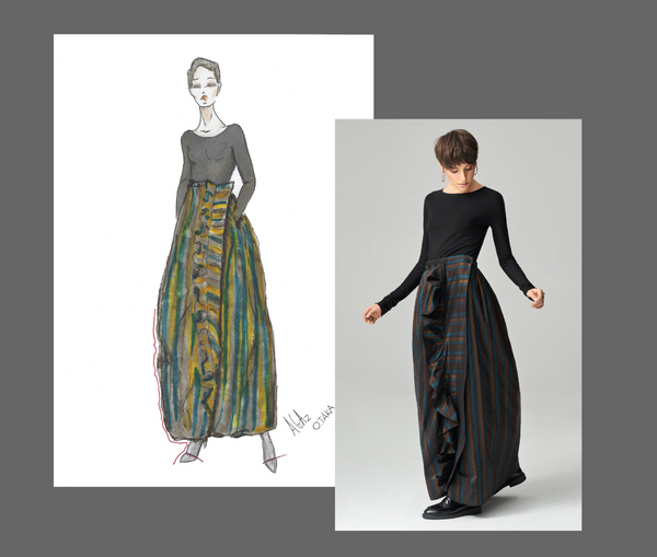 OTAKA from design to skirt