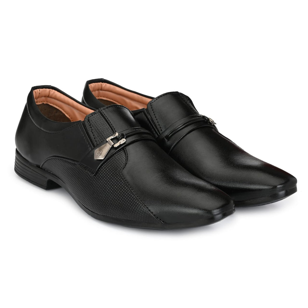 Handcrafted Shiney Black Formal Shoes