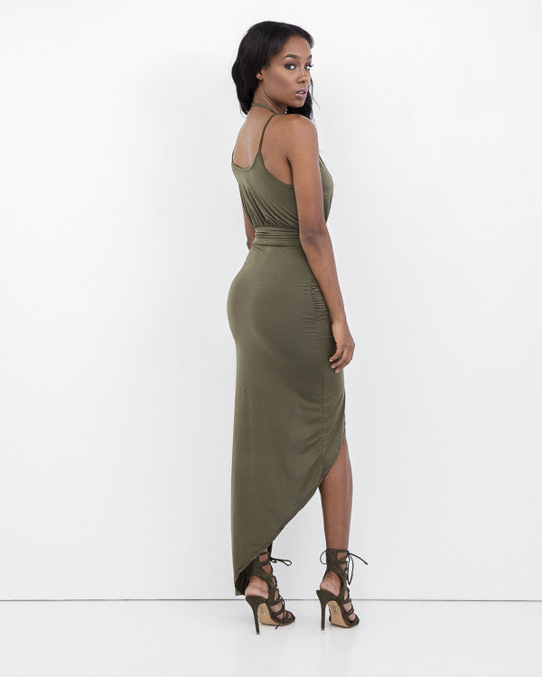 LOVE BIANCA WRAP DRESS