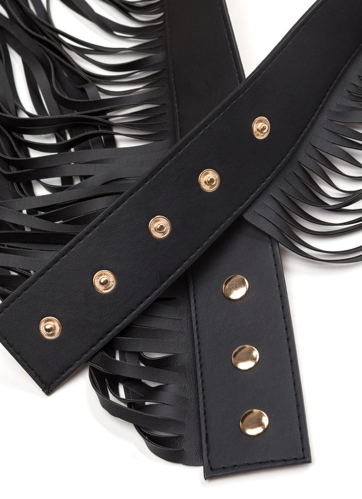 ROUND AND AROUND TASSEL BELT