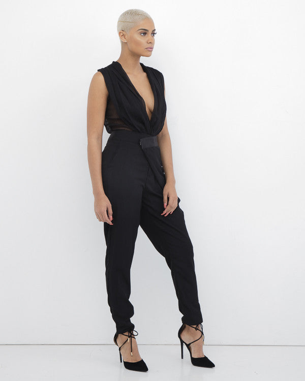 CAMRIE Layered Dress Black Pant at FLYJANE | Cute Dress Pants for Holiday at FLYJANE | How Cute Are These Pants | I love Contemporary Fashion under $100