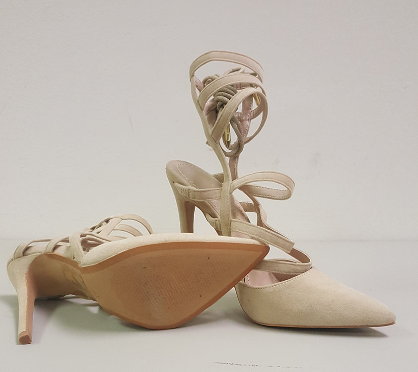 ABBEY PUMP - BEIGE (SAMPLE)