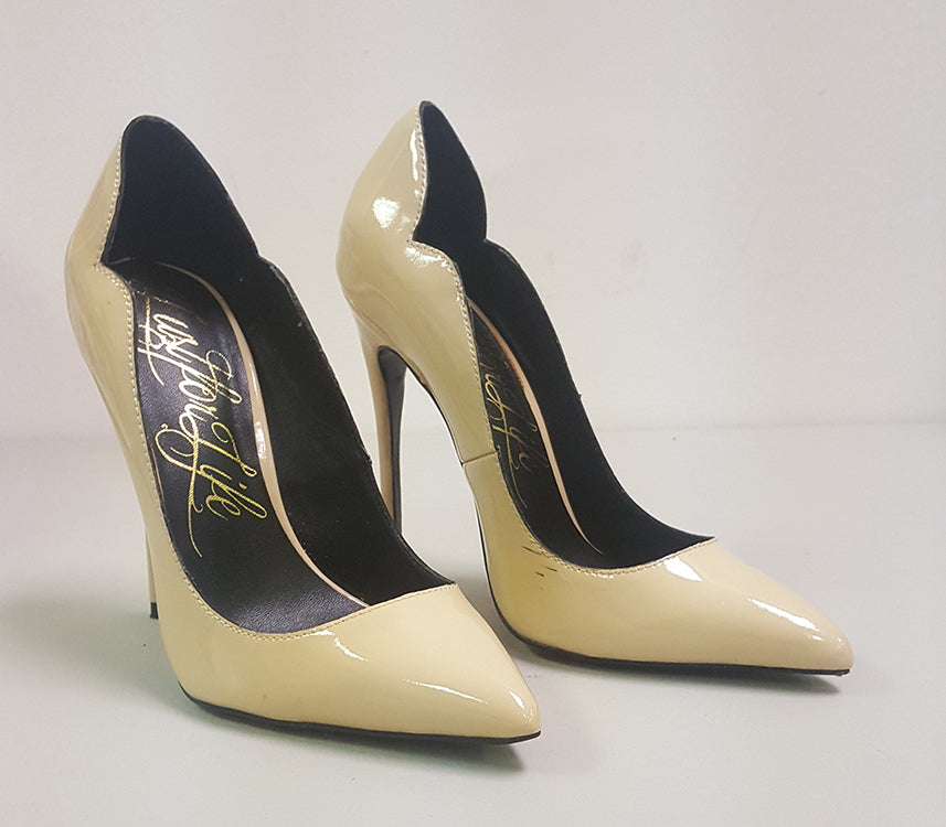 LUST FOR LIFE KASH PUMP - NUDE PATENT (SAMPLE)