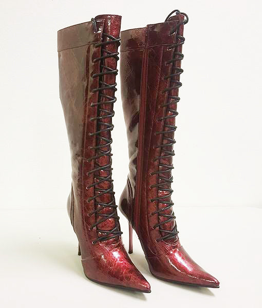 MICHAEL ANTONIO ORCHID LACE UP BOOT (SAMPLE)