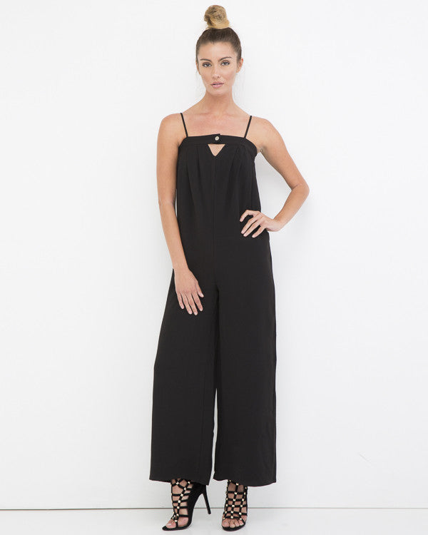 CLEAN GETAWAY WIDE LEG JUMPSUIT