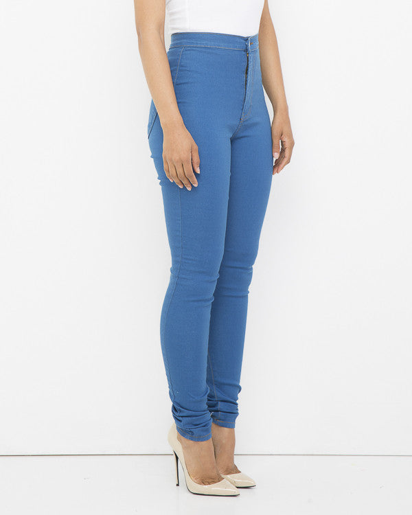 HUG THE CURVE Skinny Jeans at FLYJANE | Stretch High Waist Skinny Jeans | Treggings | High Waist Denim Jeans under $100