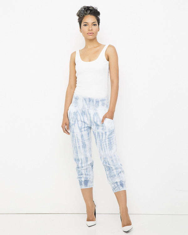 THE ACID DROP Denim Tie Dye Jogger Pant at FLYJANE | Tie Dye Jogger Pants | Denim Joggers