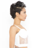 GET MESHED UP Net Bustier in White at FLYJANE | Bustiers under $50 | Mesh Bustier | White Bustier | Black Strapless Top | Layering Pieces for Fall