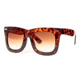 HOWARD Oversized Wayfarer Sunglasses in Tortoise at FLYJANE