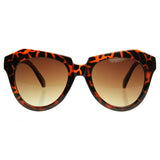 MADELINE Oversized Wayfarer Sunglasses in Tortoise at FLYJANE