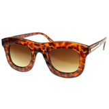 GET WAVY WAYFARER SUNGLASSES IN TORTOISE AT FLYJANE