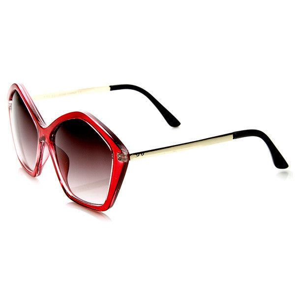 SEEING STARS  Retro Sunglasses in Red at FLYJANE
