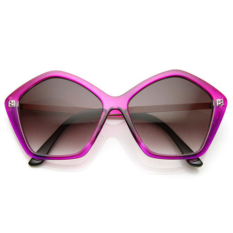 SEEING STARS  Retro Sunglasses in Purple at FLYJANE