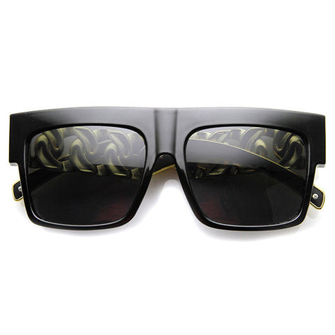 Chain Reaction Square Sunglasses available NOW at FLYJANE