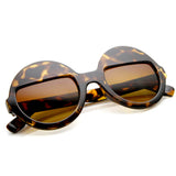 EYES WIDE SHUT Sunglasses at Tortoise Brown at FLYJANE