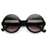 EYES WIDE SHUT Sunglasses at Shiny Black at FLYJANE