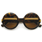 EYES WIDE SHUT Sunglasses at Tortoise Amber at FLYJANE