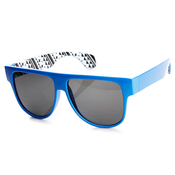 NEON DAZE FLAT TOP SUNGLASSES
