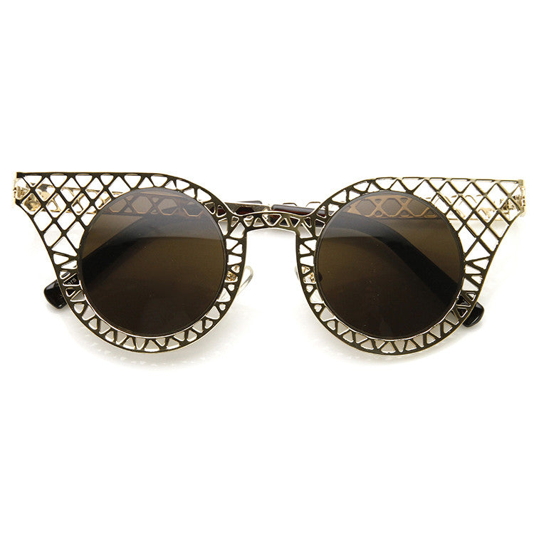 MISS SPLINTER Cat Eye Sunglasses at FLYJANE