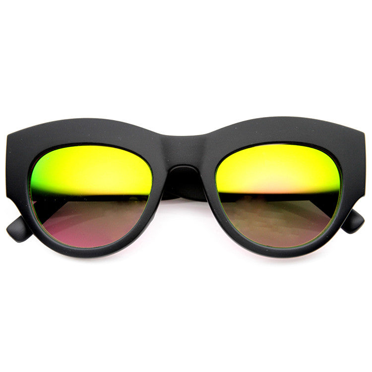 ULTRA LIGHT BEAMS MATTE REVO MIRROR SUNGLASSES